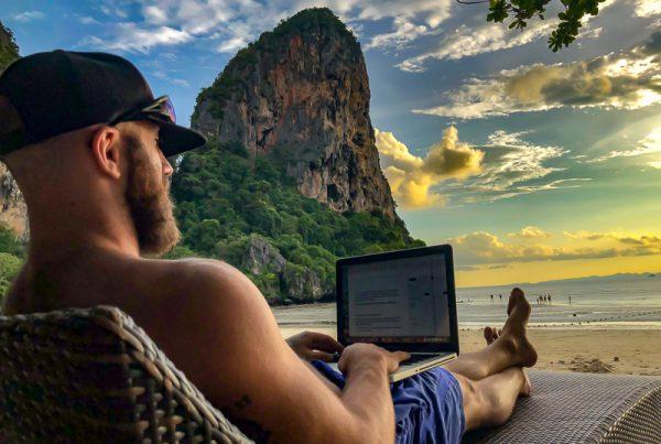 Sean fagan coach travel lifestyle design laptop